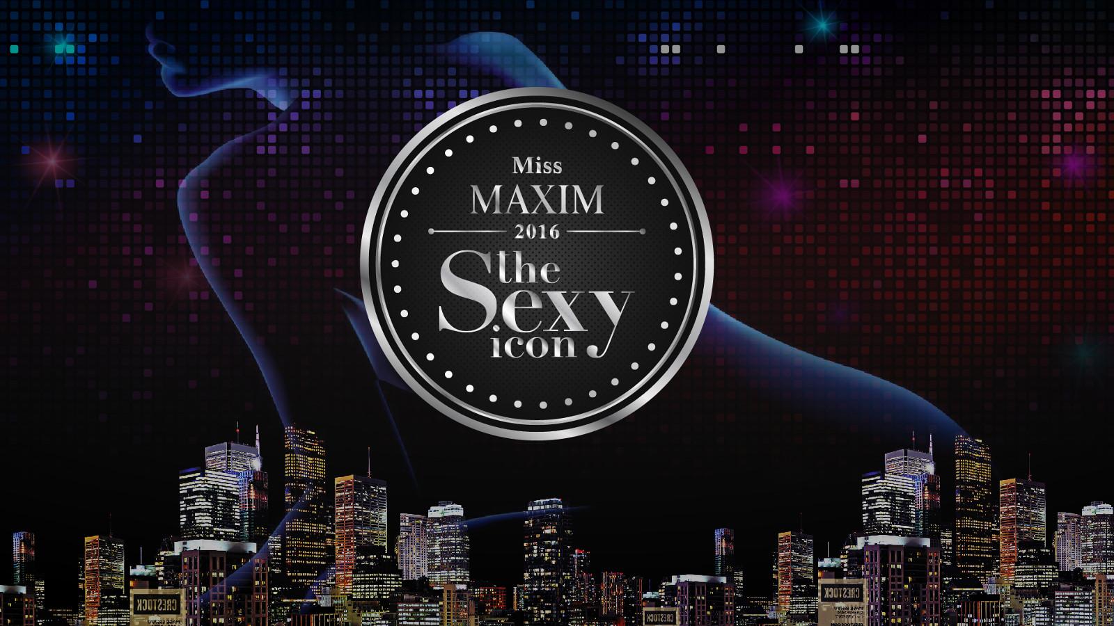 Miss MAXIM 2016 the Sexy Icon (MX131-MX140)